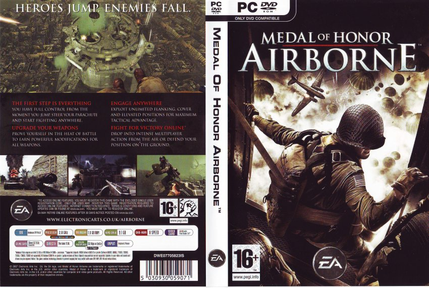 download game medal of honor airborne pc