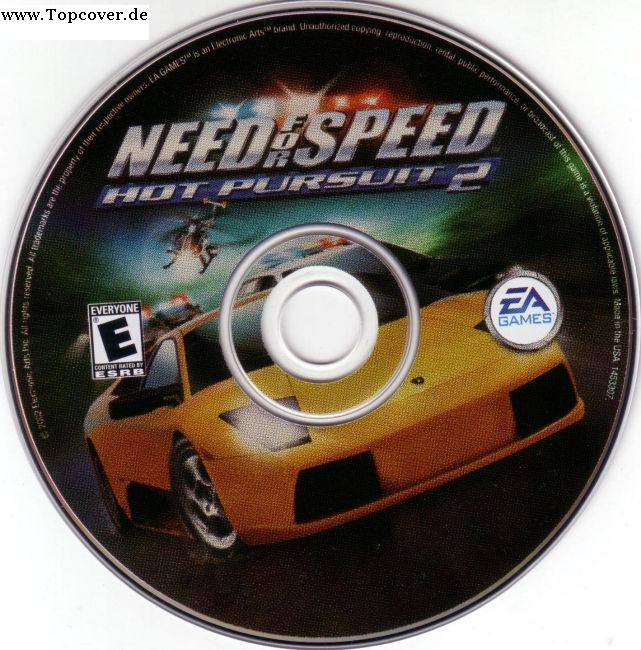 Need For Speed Hot Pursuit 2 Cd Pc Covers Cover Century Over