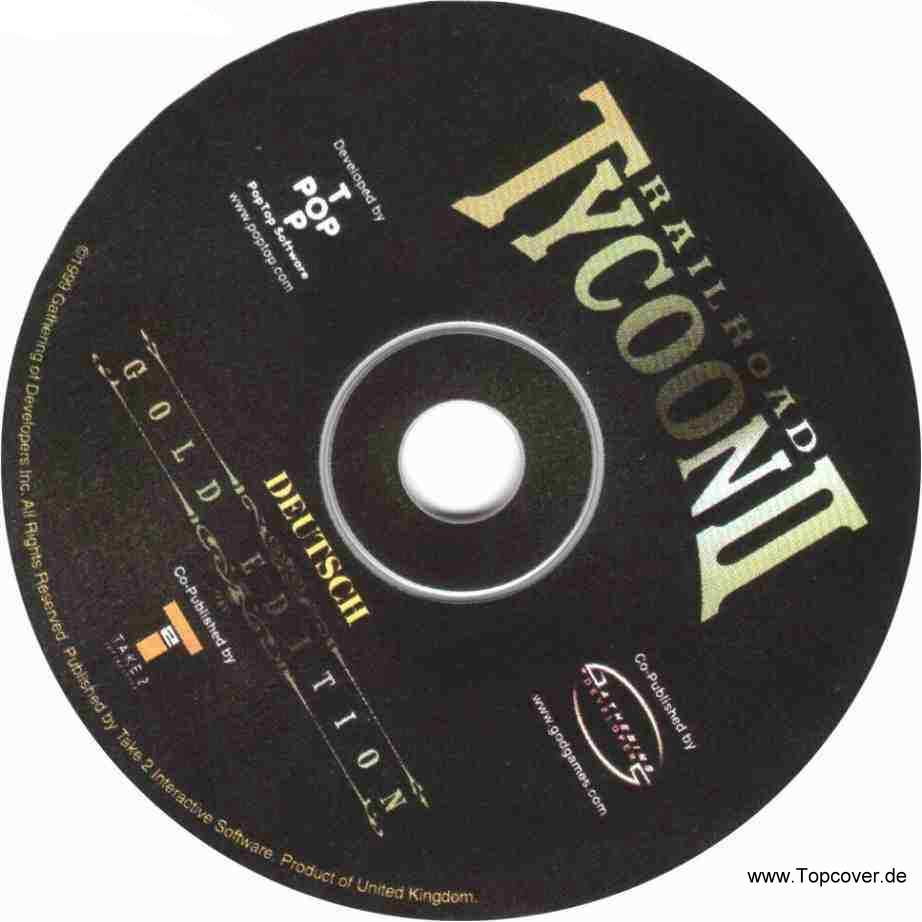 railroad tycoon 2 gold edition cd | PC Covers | Cover