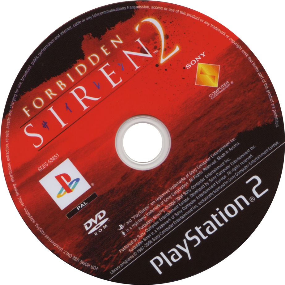 Forbidden Siren 2 Cd Playstation 2 Covers Cover Century Over