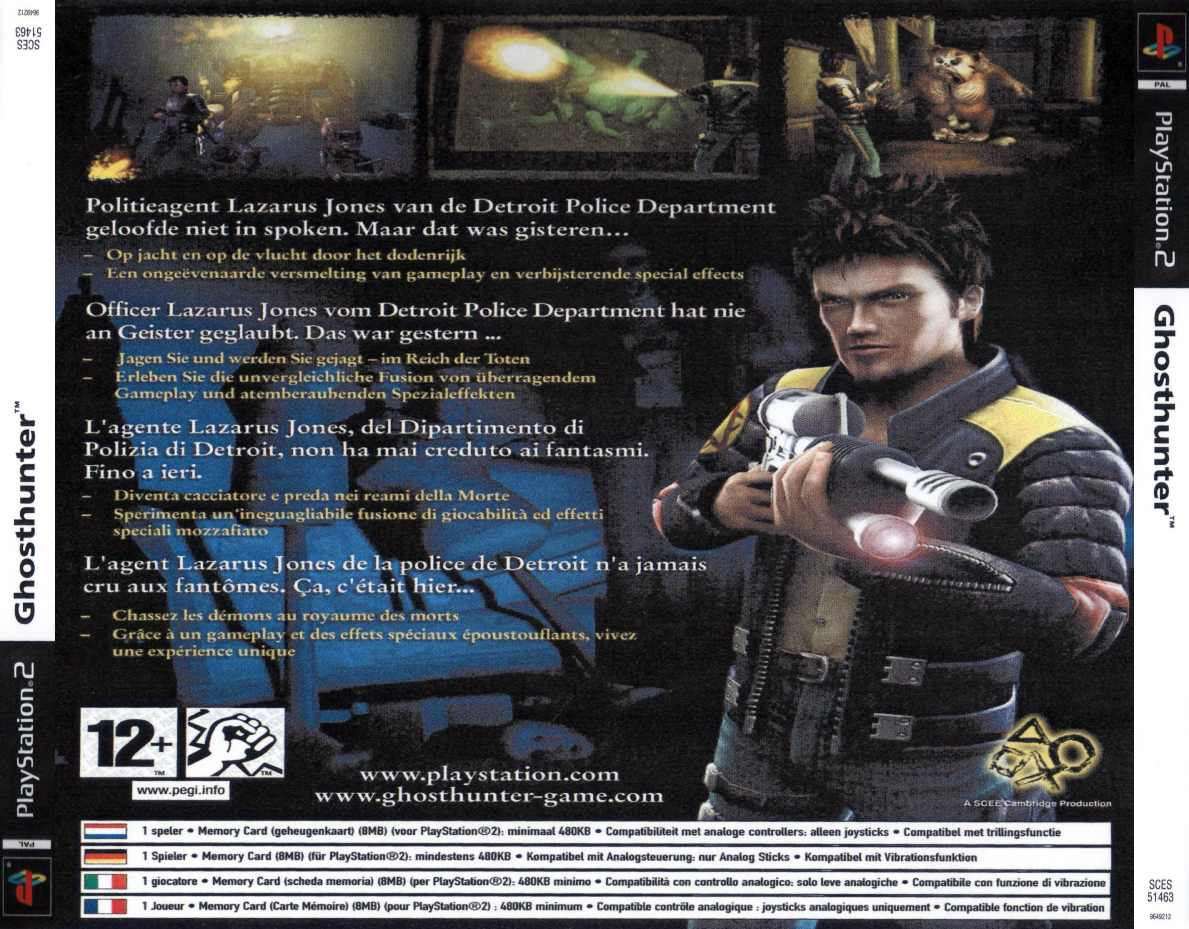 ghost hunter b | Playstation 2 Covers | Cover Century | Over 500 000