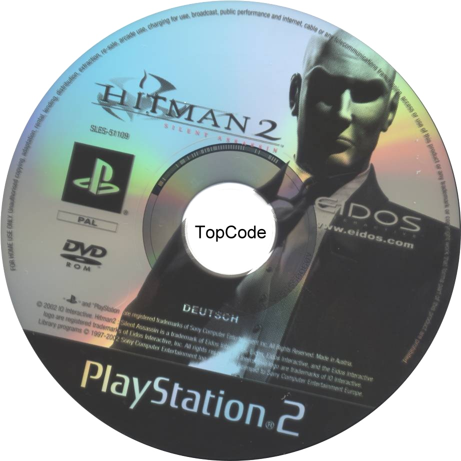Hitman 2 Silent Assassin Cd Playstation 2 Covers Cover Century