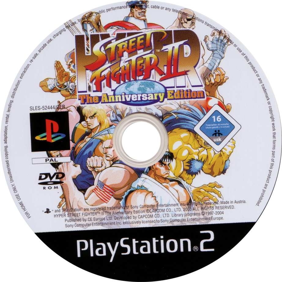 Hyper Street Fighter Ii Cd Playstation 2 Covers Cover Century