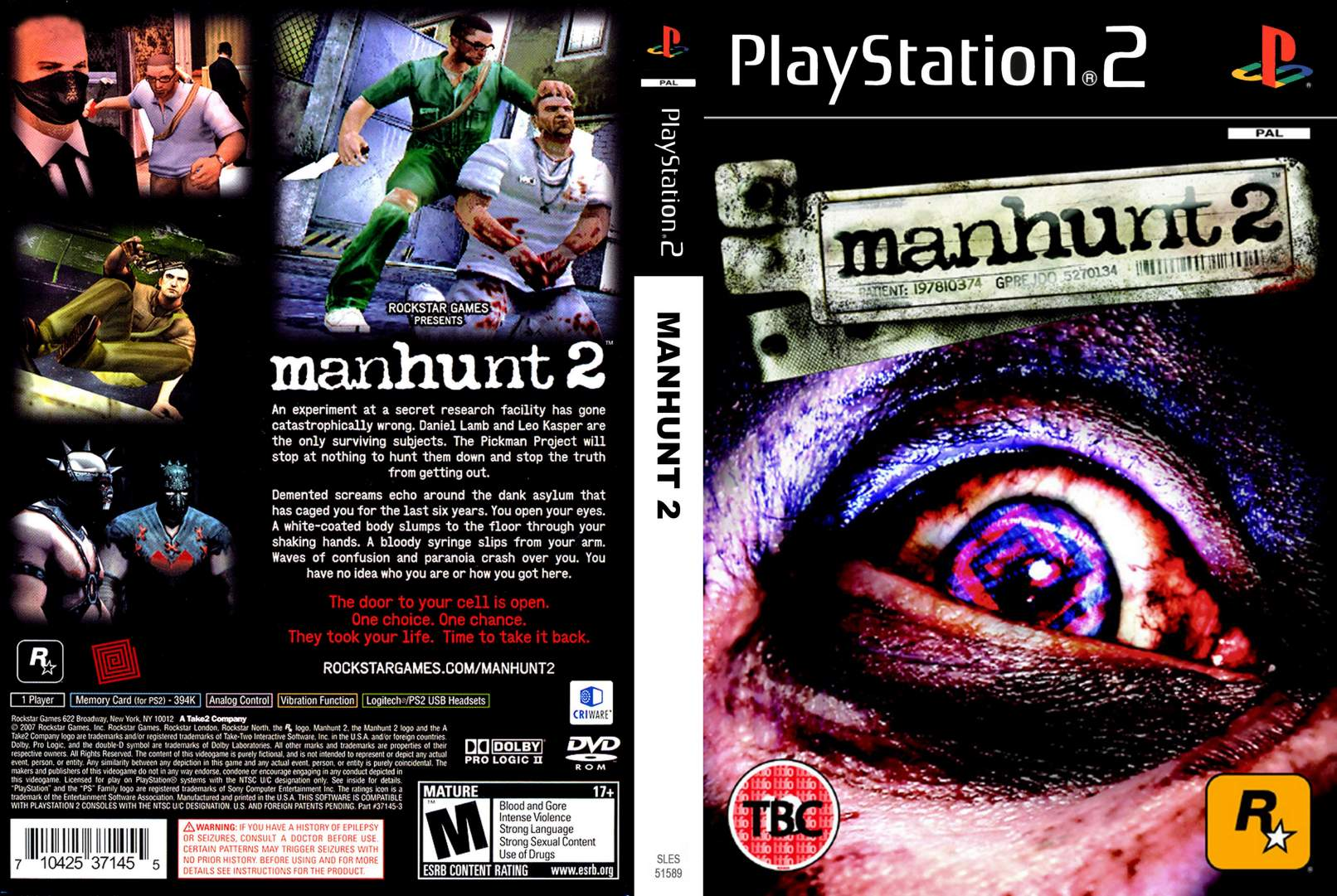 Manhunt 2 (PAL) PS2 TO PS4