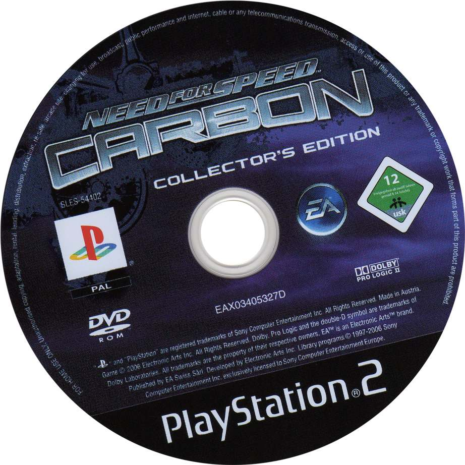 Need For Speed Carbon Collectors Edition Ps2 Iso Need4speed Fans