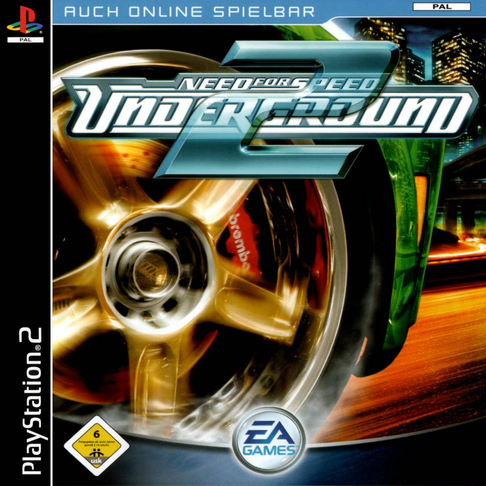 Need For Speed Underground 2 A Playstation 2 Covers Cover