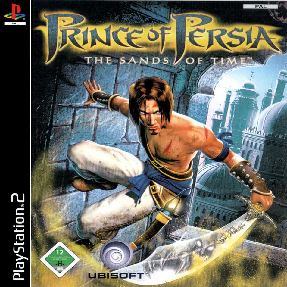 Prince Of Persia The Sands Of Time A Playstation 2 Covers Cover Century Over 500 000 Album Art Covers For Free