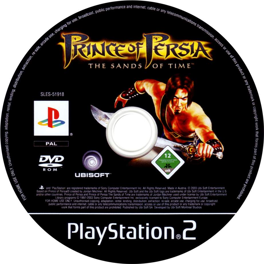 Prince Of Persia The Sands Of Time Cd Playstation 2 Covers Cover Century Over 500 000 Album Art Covers For Free