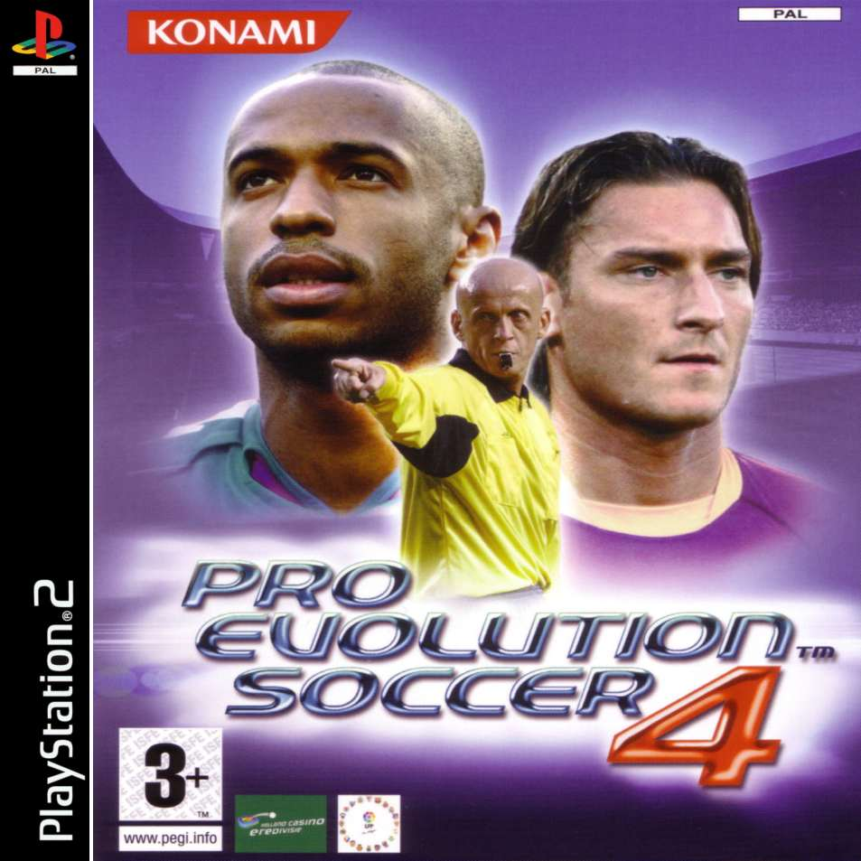 pro evolution soccer 4 a | Playstation 2 Covers | Cover