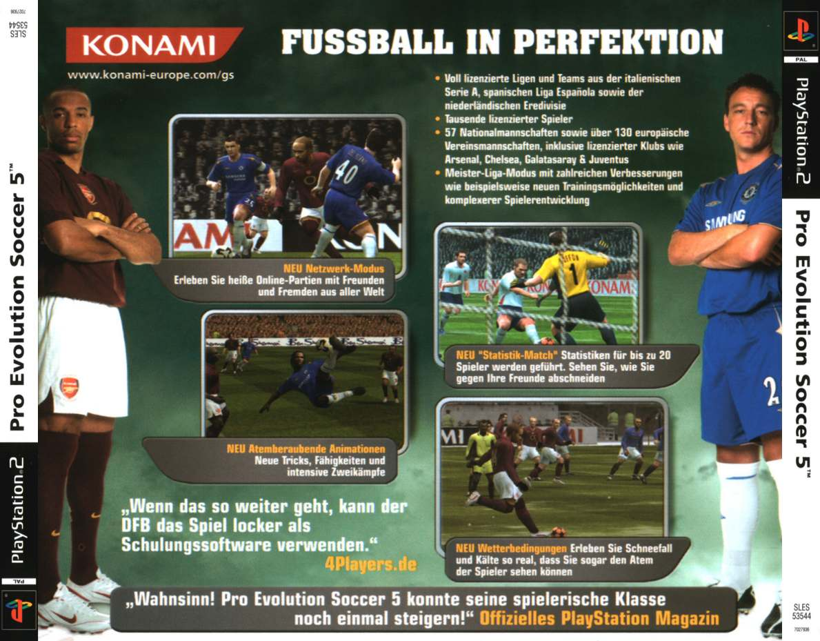 pro evolution soccer 5 b | Playstation 2 Covers | Cover