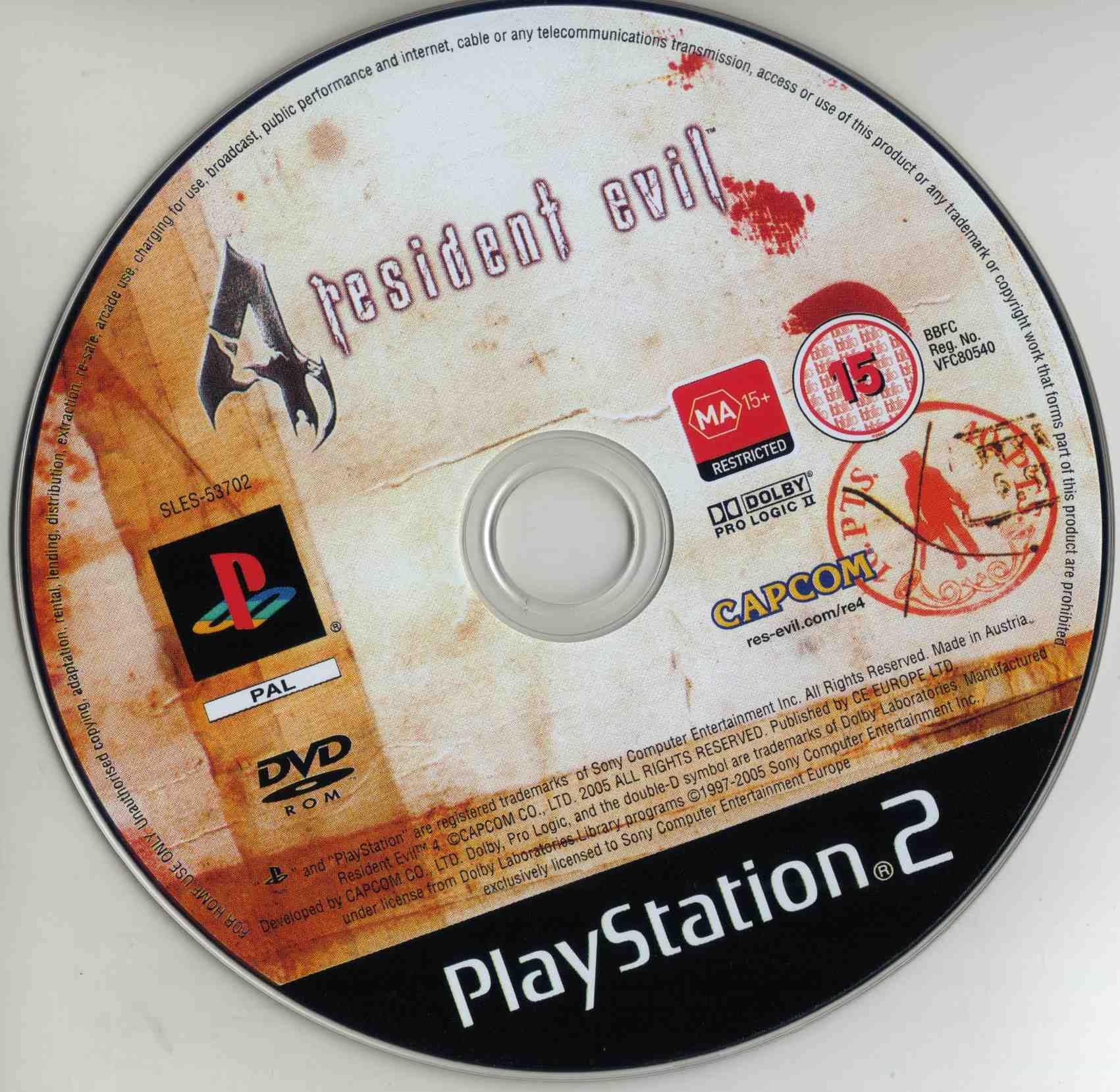 Resident Evil 4 Ps2 Cdd Playstation 2 Covers Cover Century