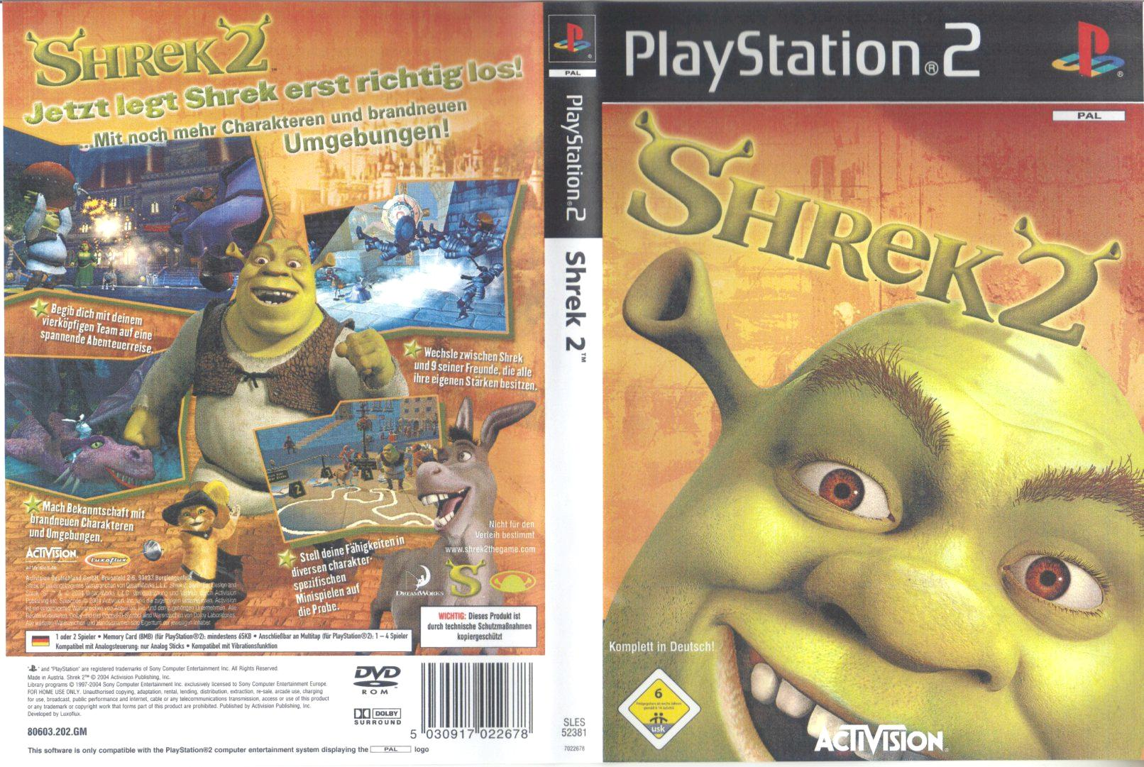 shrek 2 d | Playstation 2 Covers | Cover Century | Over 500.000 Album Art  covers for free