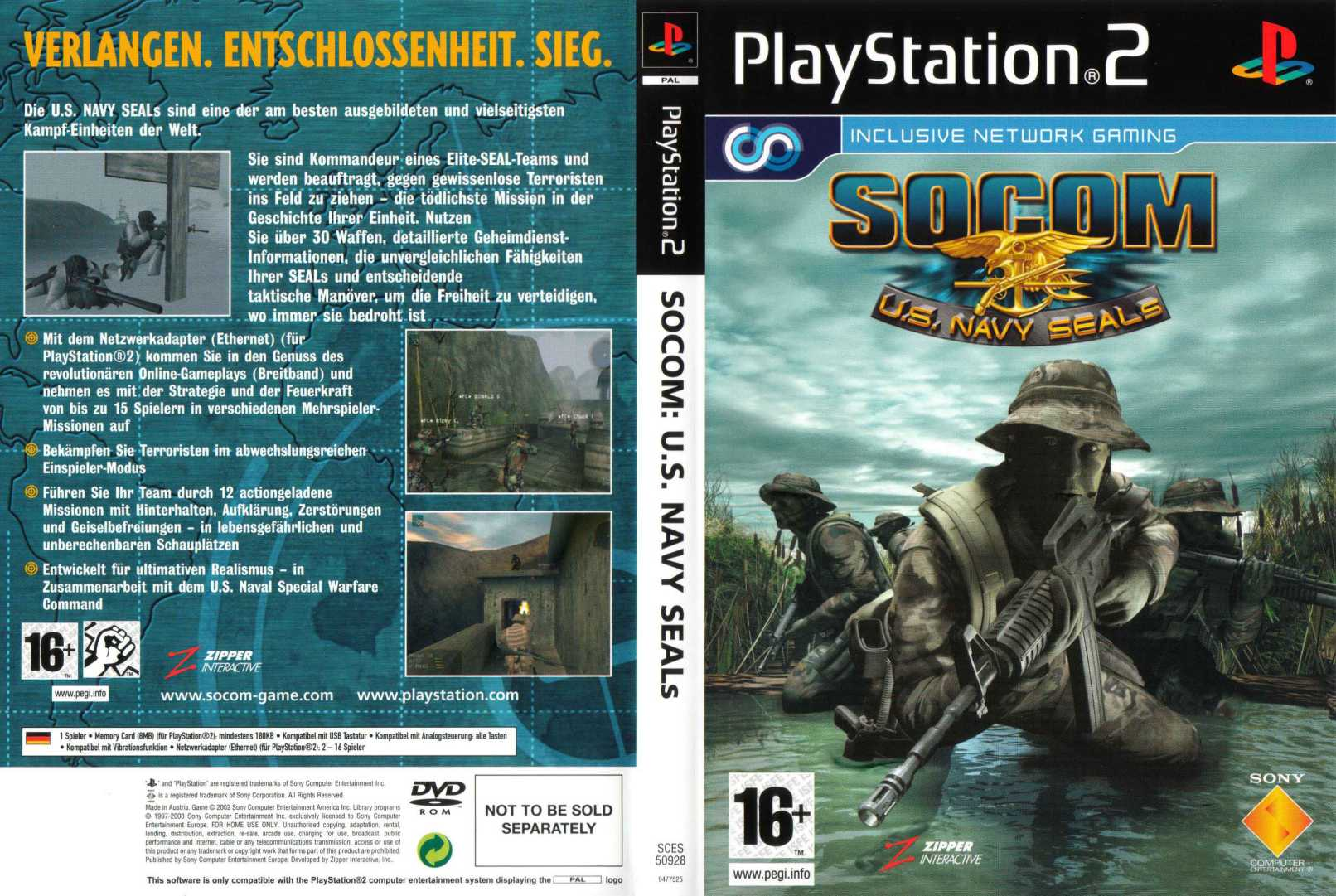 socom us navy seals d | Playstation 2 Covers | Cover Century