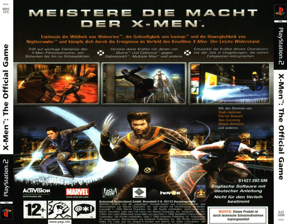 X-Men: The Official Game - PC