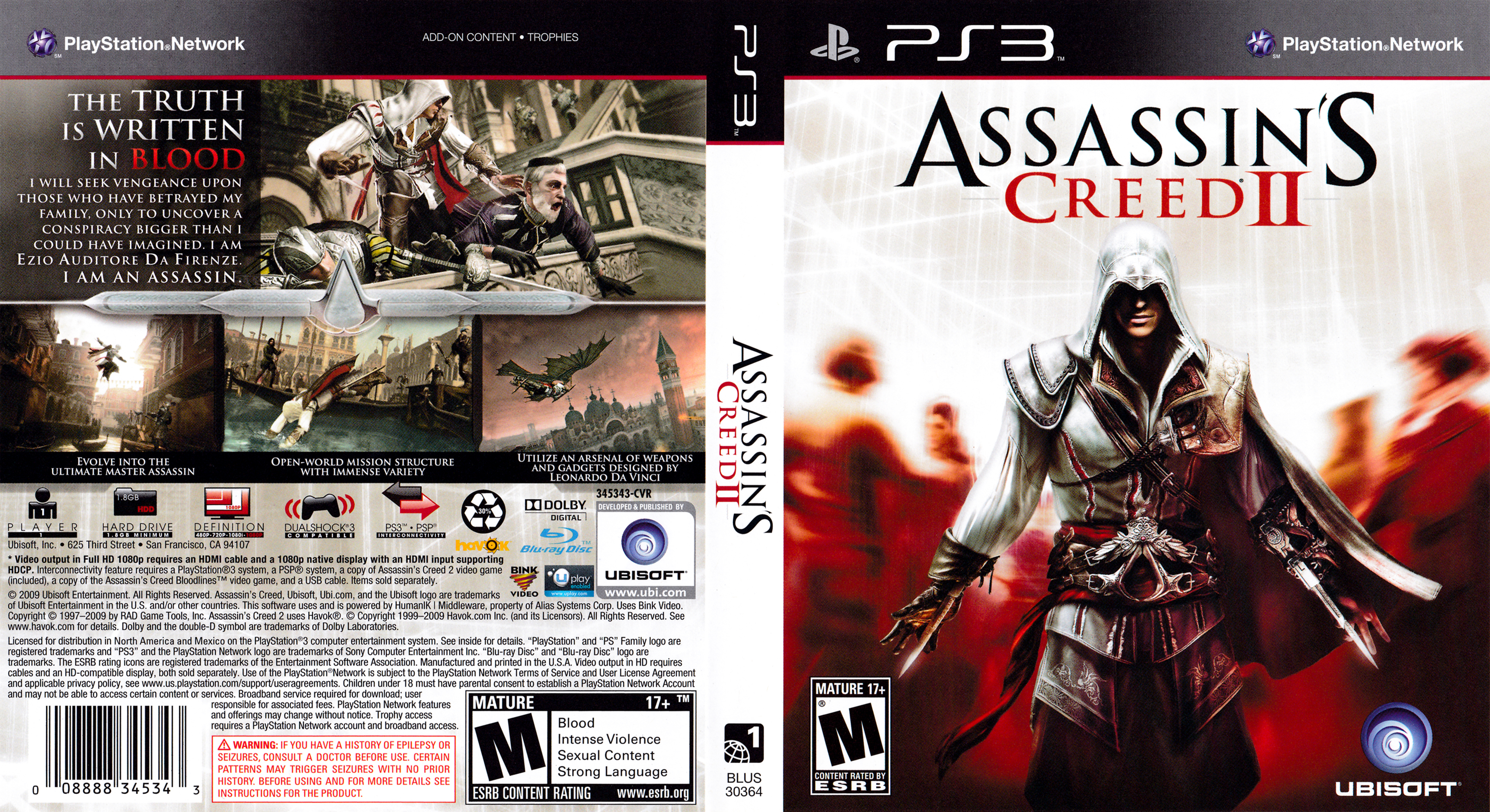 Assassin S Creed Ii Playstation 3 Covers Cover Century Over
