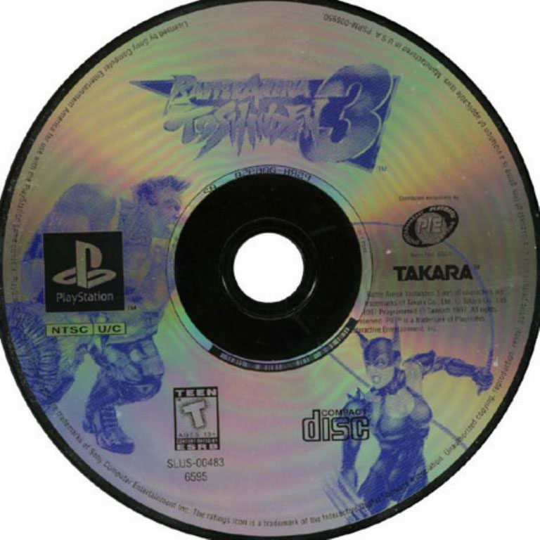 Battle Arena Toshinden 3 Ntsc Psx Cd Playstation Covers Cover