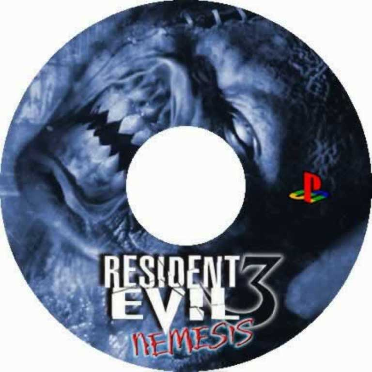 Resident Evil 3 Nemesis Pal Psx Cd Playstation Covers Cover