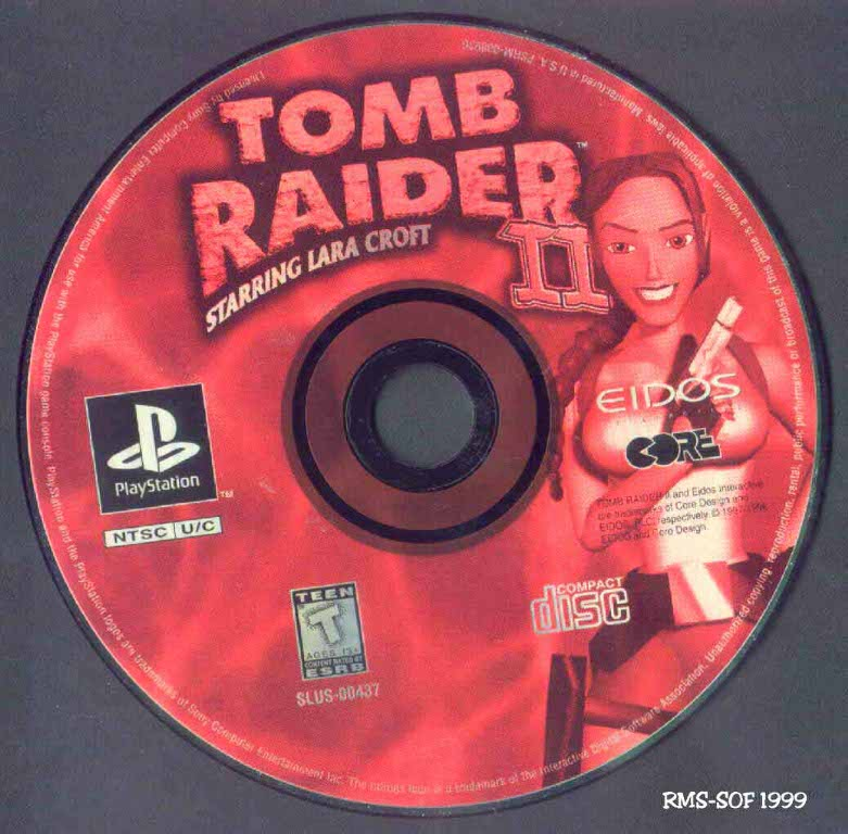 Tomb Raider 2 Ntsc Psx Cd Playstation Covers Cover Century