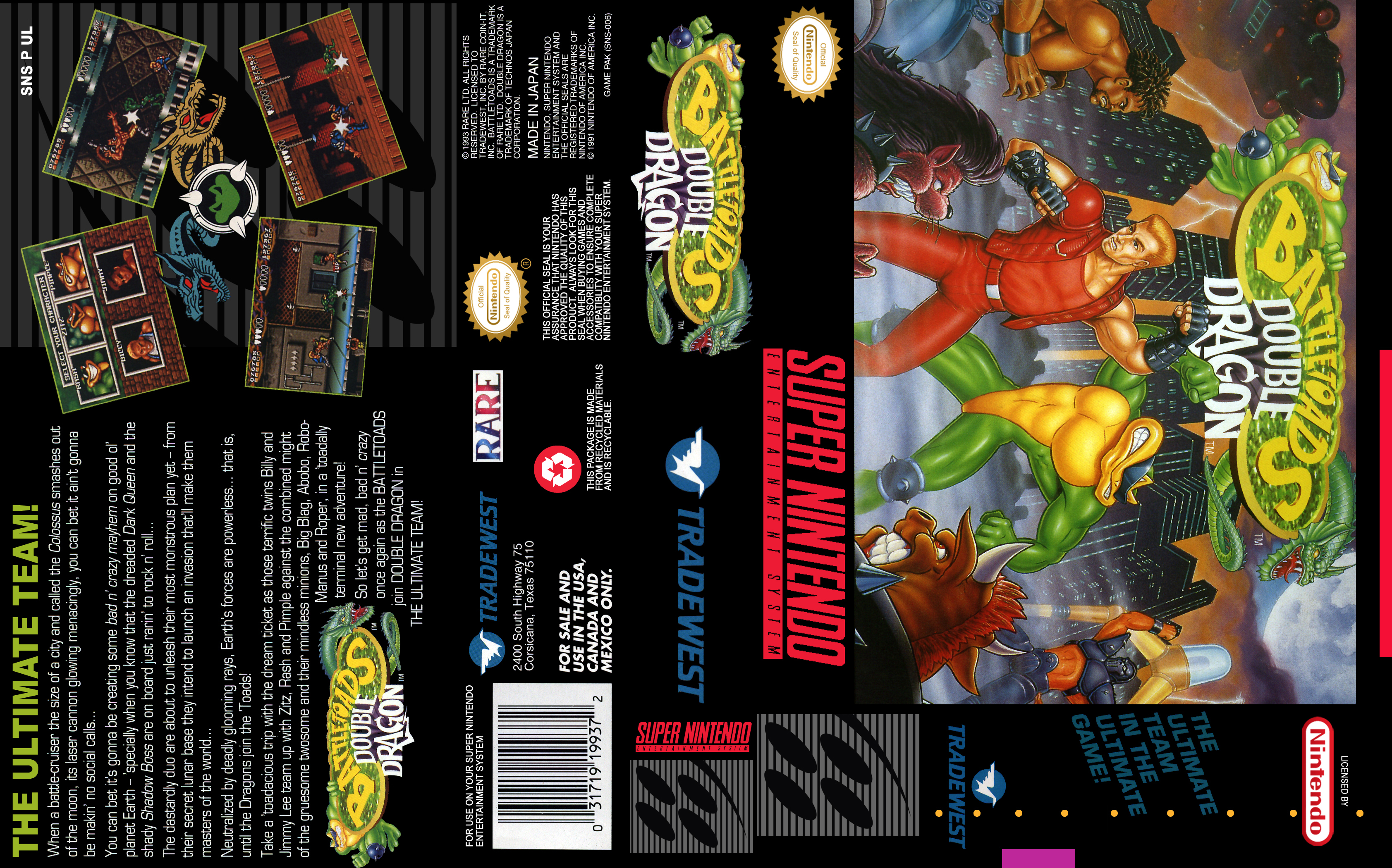 Battletoads Double Dragon Super Nintendo Covers Cover Century Over 500 000 Album Art Covers For Free