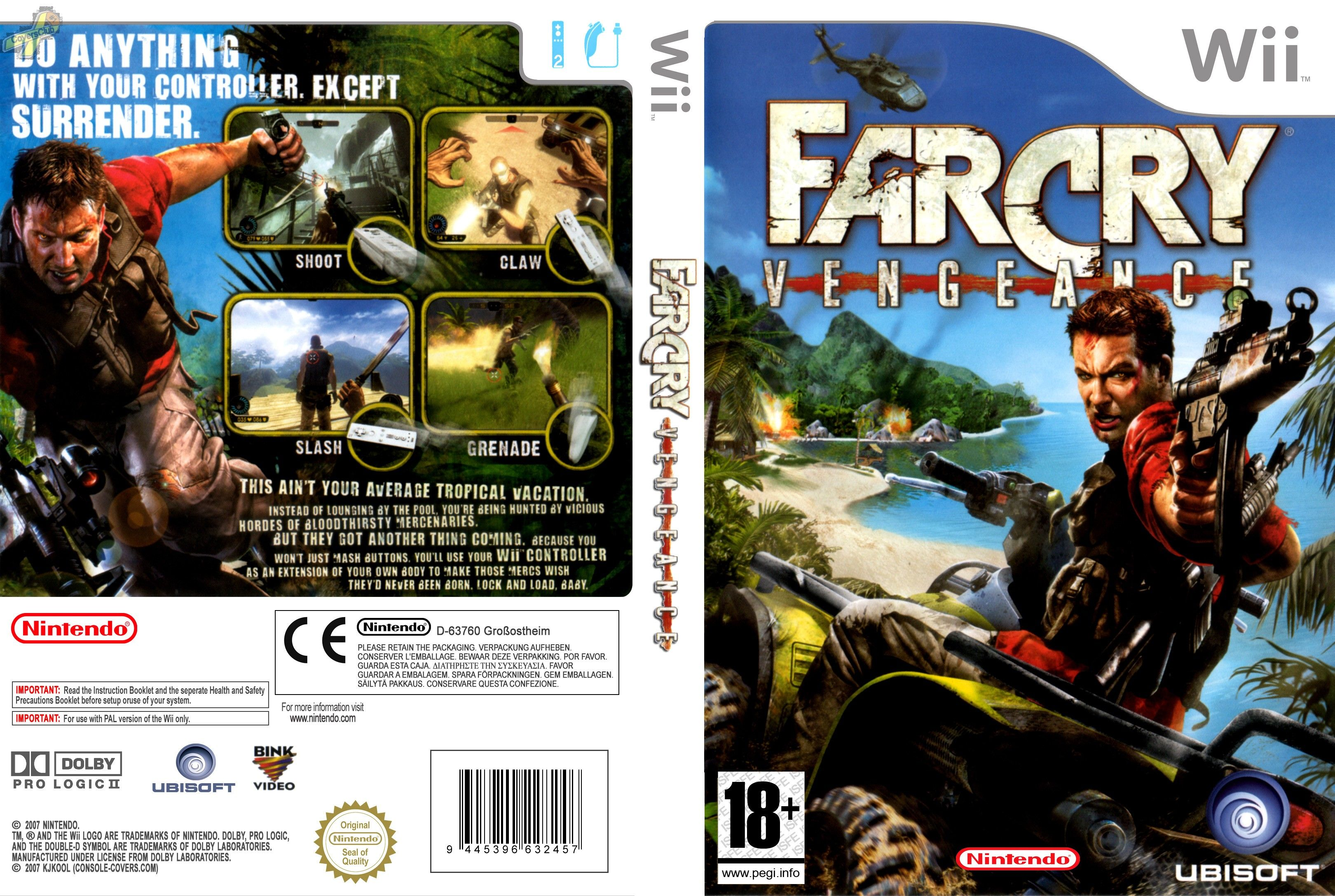 Far Cry Vengeance Wii Full Wii Covers Cover Century Over 500 000 Album Art Covers For Free