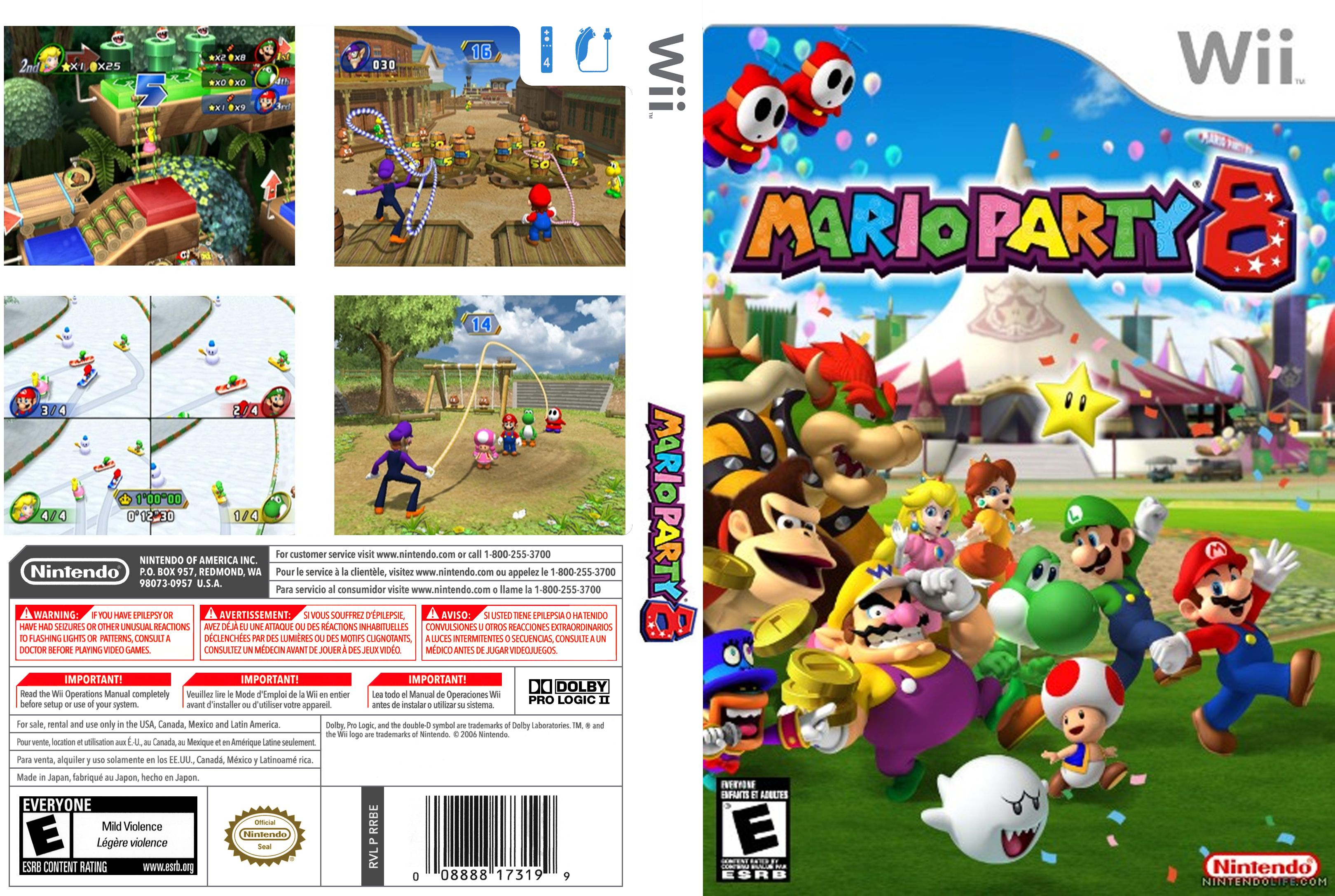 mario party 8 ntsc wii full wii covers cover century over album art covers for free. Black Bedroom Furniture Sets. Home Design Ideas
