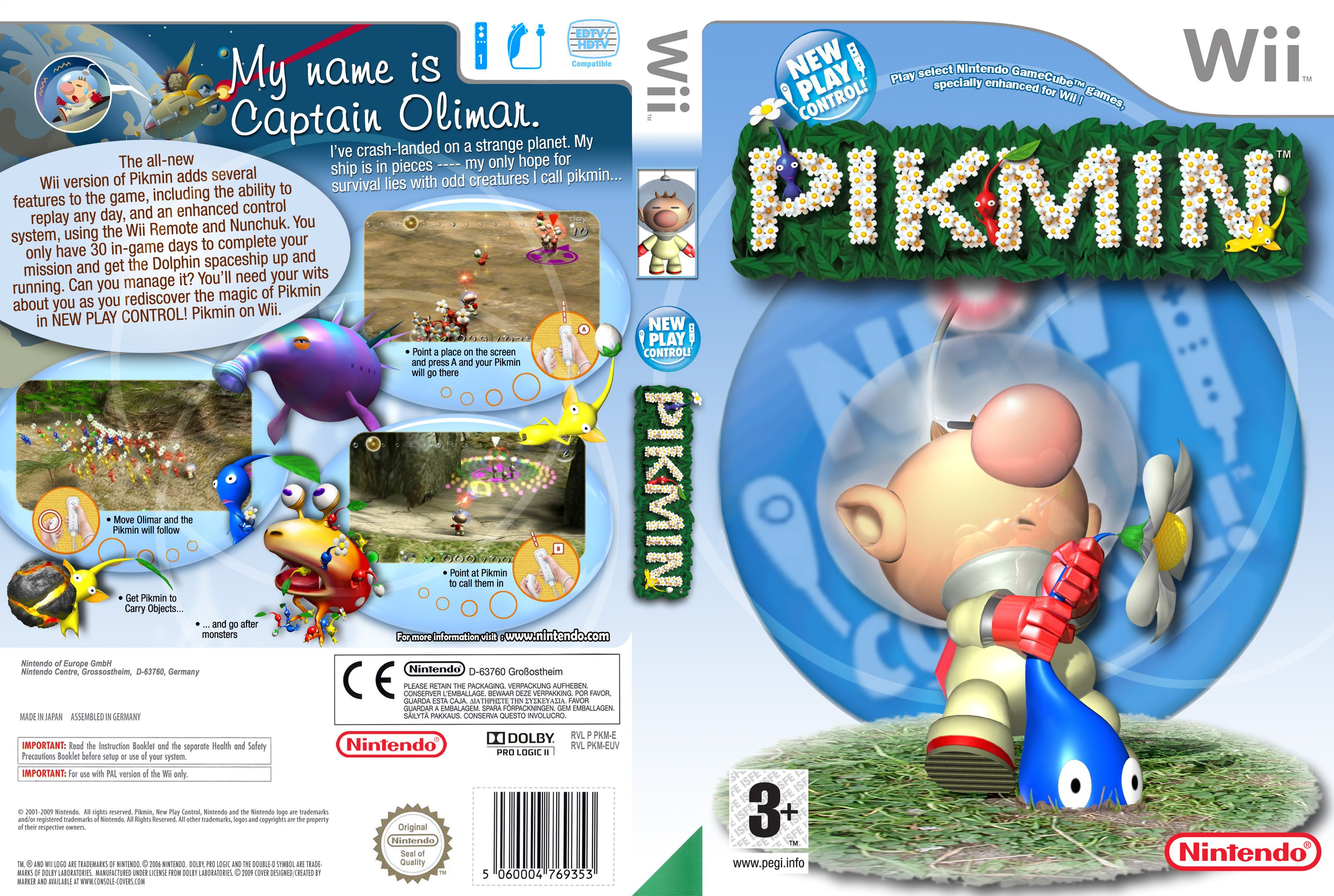 Pikmin Pal Wii Full Wii Covers Cover Century Over 500 000