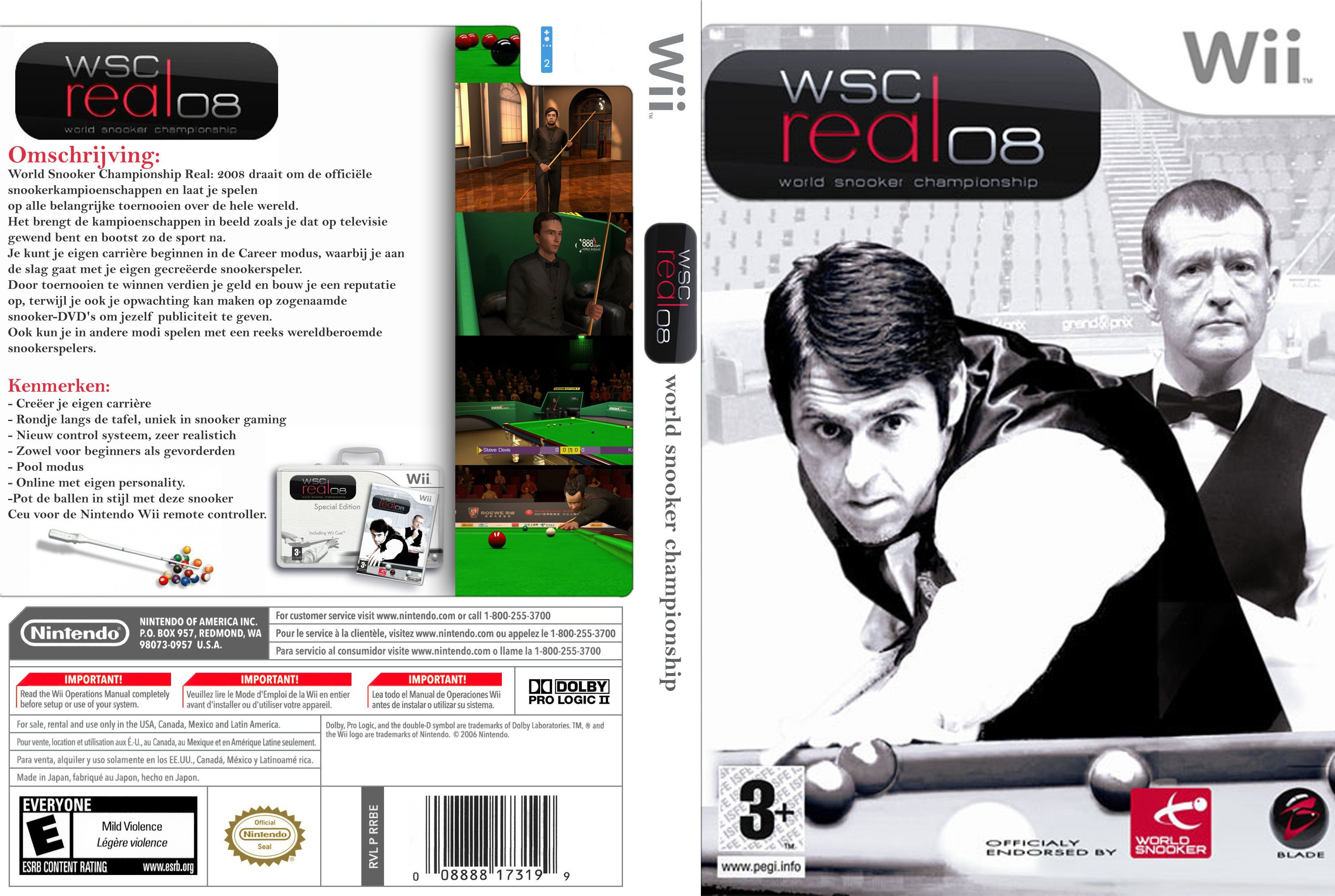 World Snooker Championship Real08 NTSC Wii FULL