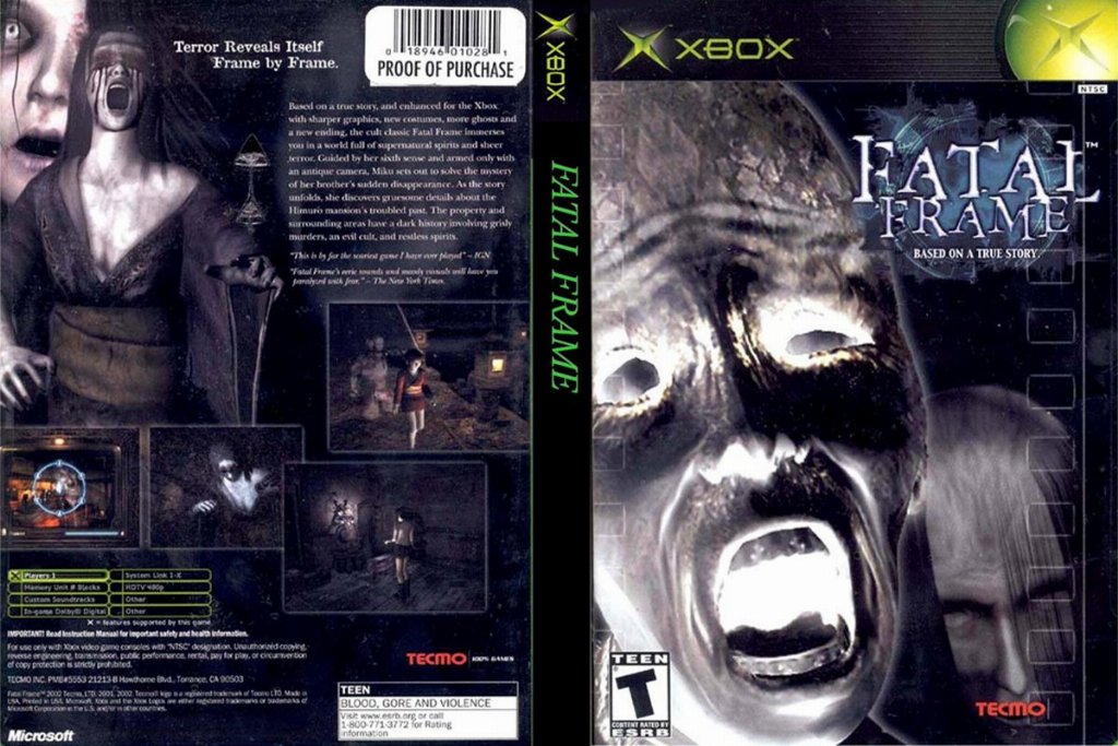 Fatal Frame NTSC XBOX FULL | XBOX Covers | Cover Century | Over ...
