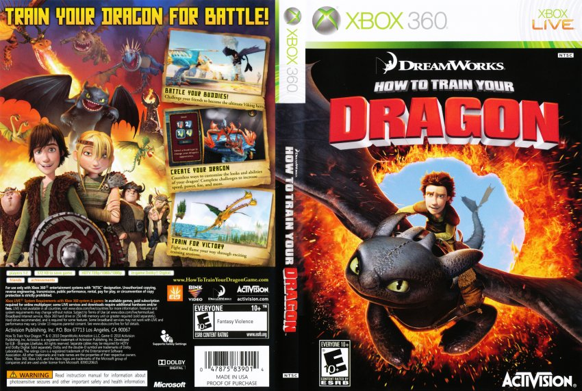 How to train your dragon dvd ntsc f xbox covers cover century how to train your dragon dvd ntsc f ccuart Images