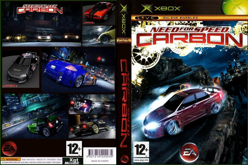 Need For Speed Carbon Pal Xbox Full Xbox Covers Cover Century
